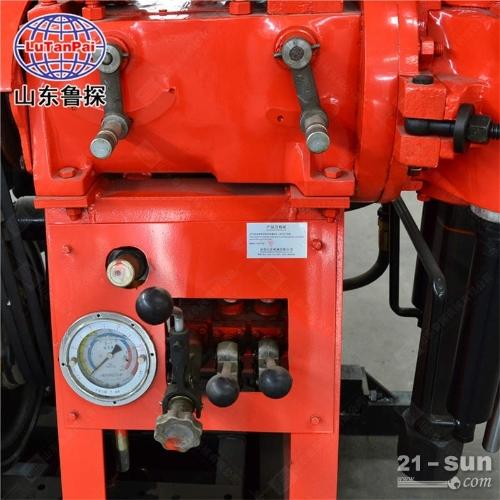 鲁探供应 130型移机款全液压水井钻机  百米深水井设备