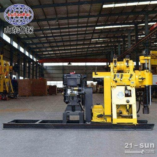 200米深度水井钻机  HZ-200Y液压水井钻机  大口径灌溉井设备