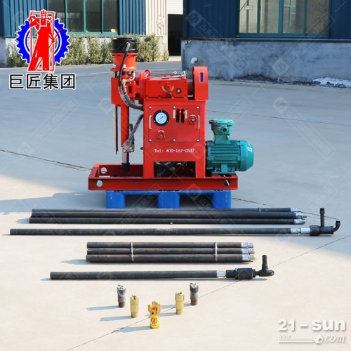 zlj注浆加固钻机5.5kw 地基加固注浆钻孔一体机