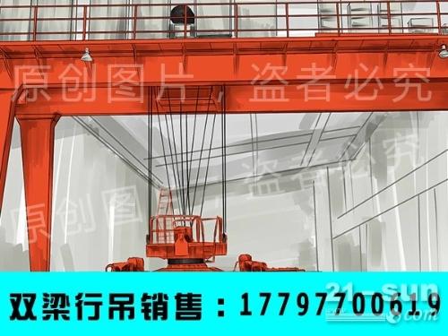 安徽蚌埠25吨双梁行吊厂家 5吨轻轨吊生产