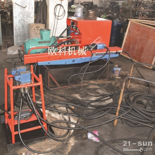 ZYJ-420/200架柱式液压回转钻机煤层注水钻机