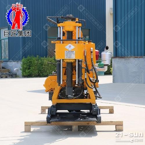 巨匠130米液压水井钻机130型可移机全自动深水井打井机