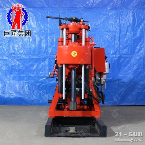 巨匠供货地质勘探钻机XY-100型液压百米钻机岩心取样钻机