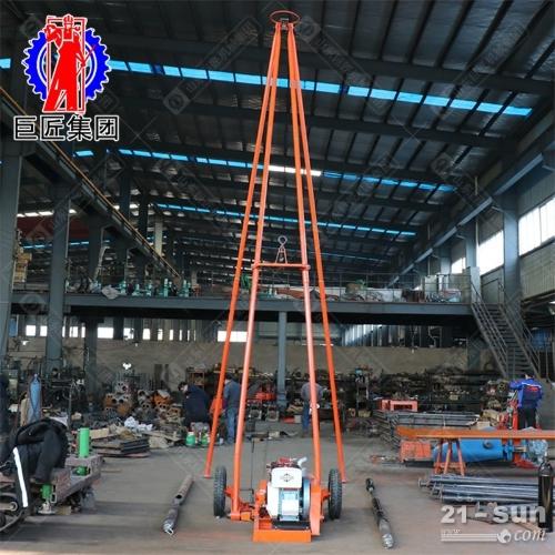 大马力工程勘探钻机30米砂金探矿取样钻机速度快 30钻机