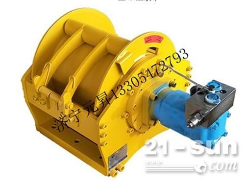 小型提升液压绞车 3吨卷扬机液压绞盘