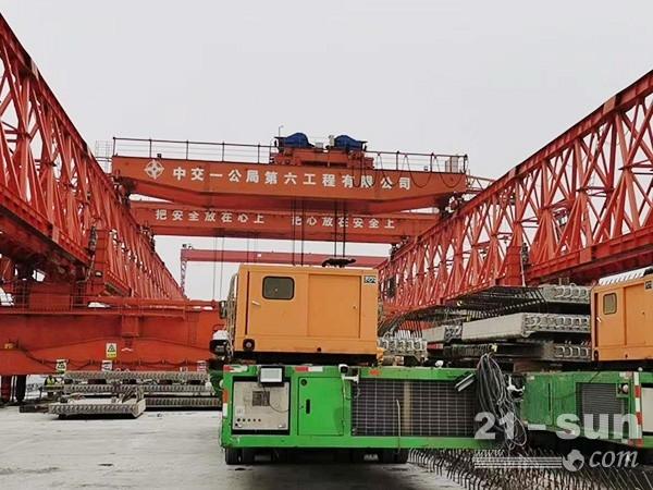 浙江杭州架桥机出租120吨方便吊运