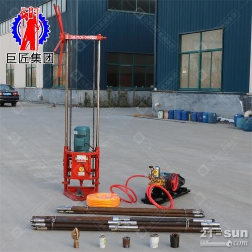 30米轻便取样钻机Q Z-2D型三相电地质勘探岩心钻机