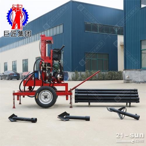 液压三相电打井机新型钻井设备打120米水井钻机