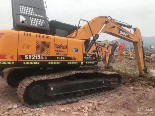 三一215二手挖掘机