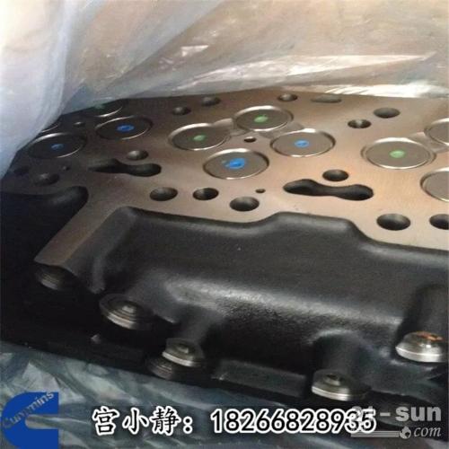 康明斯气缸盖柳工挖机QSL缸盖总成5529522