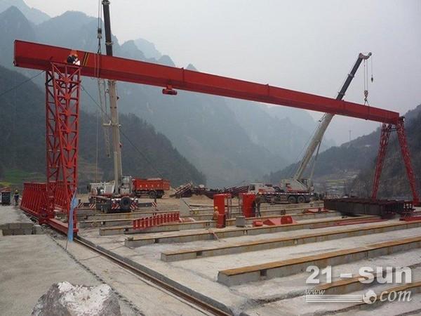 云南昭通二手龙门吊出租厂家跨度27米龙门吊出售
