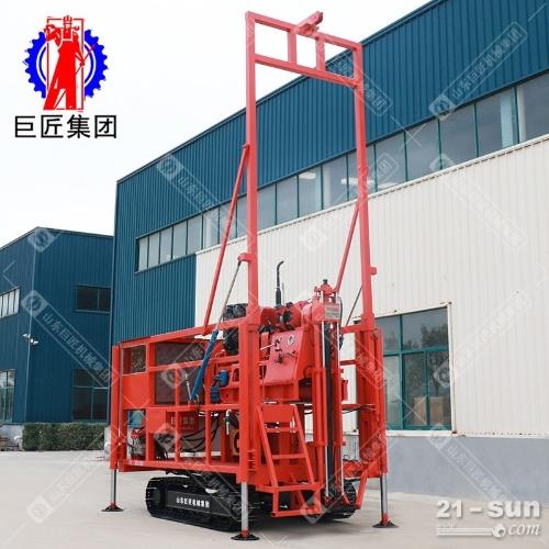 房勘地勘钻探王地质勘探钻机 300米履带式液压岩芯钻机