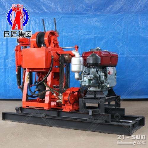 液压岩心钻机XY-180型180米地质勘探钻机动力充沛