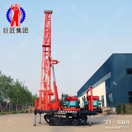 履带式30工程勘察钻机 30米砂金矿取样钻机 移动便利
