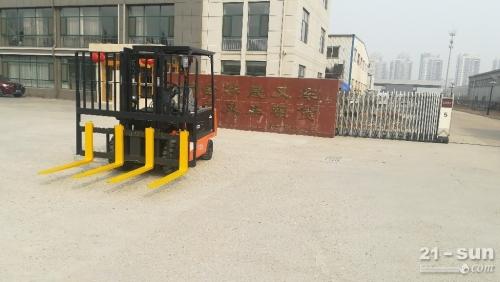 烟台出口加工区卡斯卡特推拉器系列叉车属具推出器/载荷稳定器定制