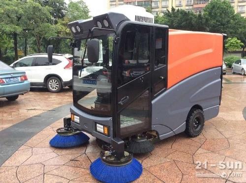 驾驶式电动清扫车工厂扫地机公园小区扫地车厂家直销
