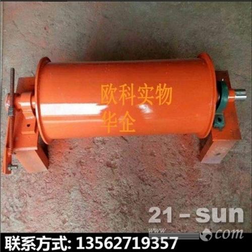 矿用永磁电动滚筒建筑垃圾分选机磁滚筒