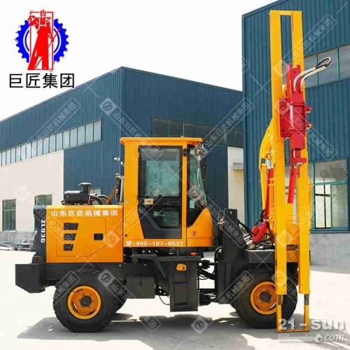 DZC-Ⅰ装载式护栏打拔一体机 公路护栏打桩拔桩施工设备 打桩拔桩一体