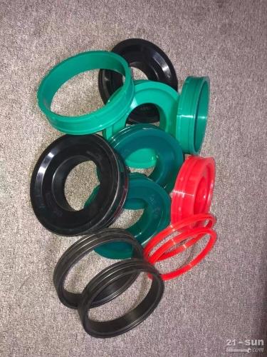 机械配件泵管三一砼泵活塞混凝土泵车聚氨酯分体活塞车载泵活塞