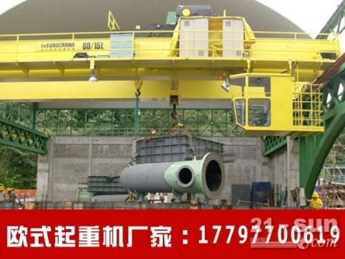 重庆欧式起重机厂家在细节上很有优势