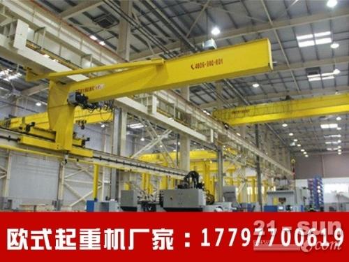 重庆欧式起重机厂家5吨欧式单梁行吊报价
