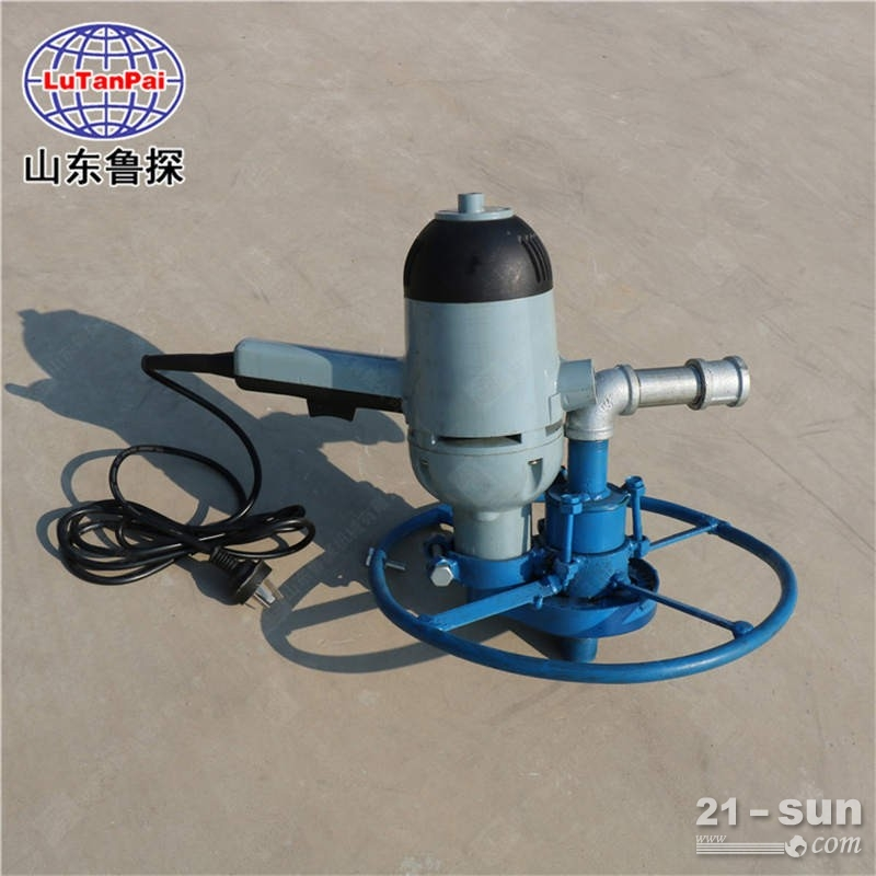 水井手持圆盘式SJD-2A便携式电动打井机小型水井回转式 钻机打井机民用打井