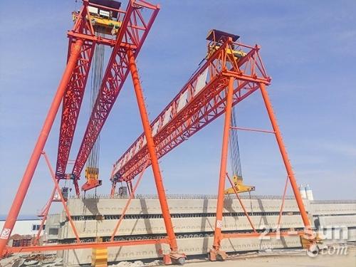 江西吉安龙门吊出租厂家跨度在35m以内