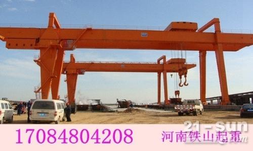 云南曲靖新乡龙门吊租赁厂家80吨龙门吊功率
