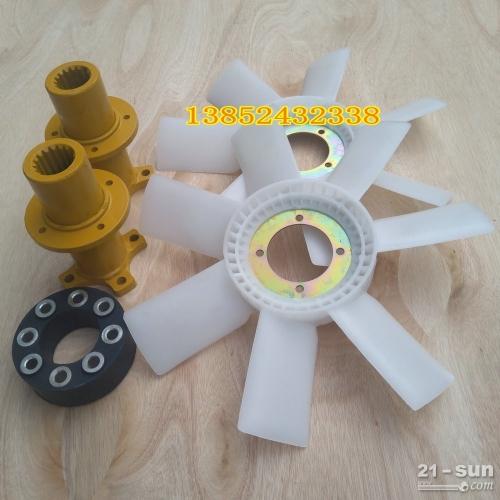 柳工压路机钢轮散热风扇 大轮连接轴 花键套