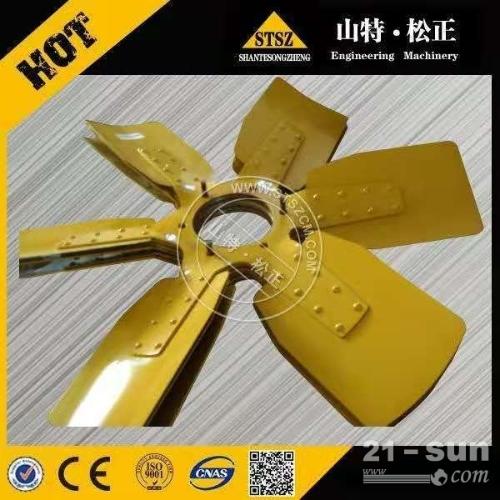 河南小松PC850-8R发动机风扇600-645-8400 ...