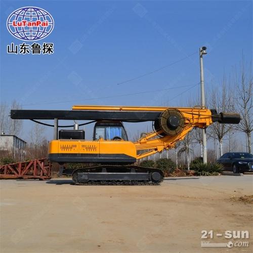 履带方杆旋挖钻机 大口径地基打桩机 小型履带旋挖机移 动方便可打20米