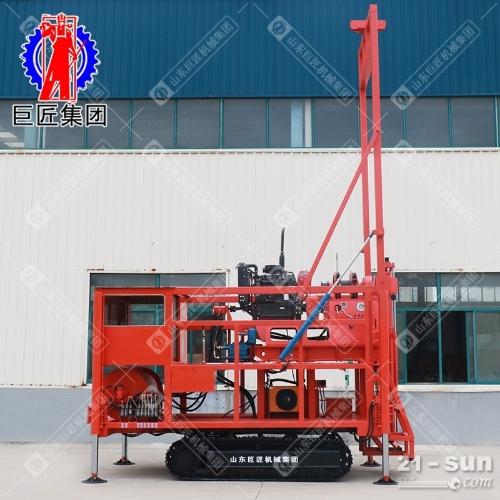 地勘房堪设备钻探王履带式取芯钻机