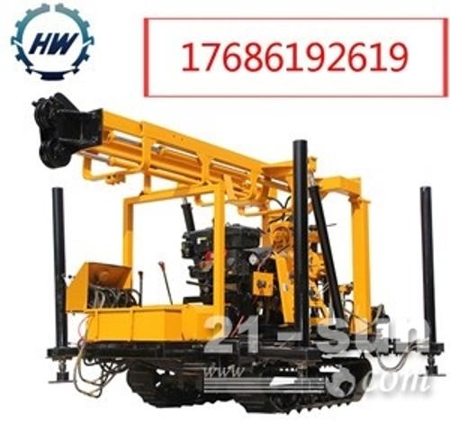 柴油液压地质勘探钻机HW160水井钻机批发轻松打水井160米