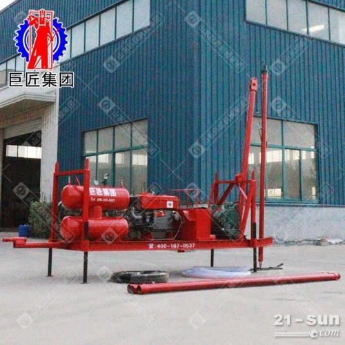 巨匠空压机洗井设备 灌溉井洗井钻机