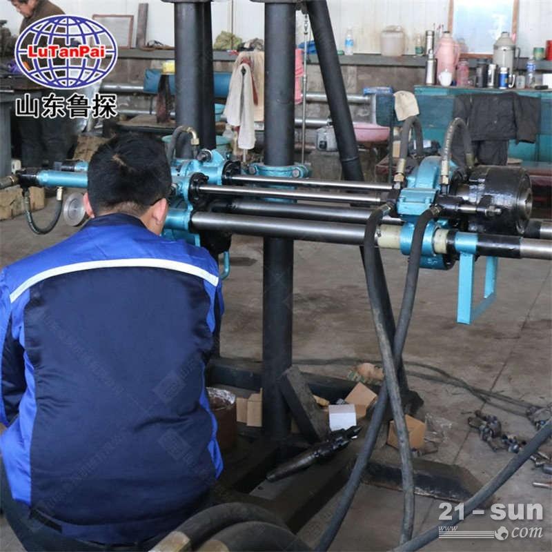 山东鲁探机械回转式钻机,取芯设备KY-150金属矿山全液 压探矿钻机煤矿坑道勘探检测用机