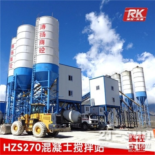大型HZS180混凝土搅拌站 标准180站