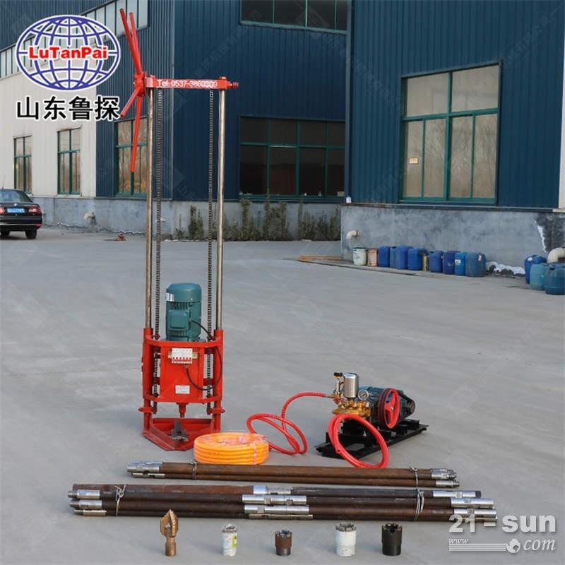 QZ-2D型三相电取样钻机轻便钻机取芯钻机岩心钻机回转式