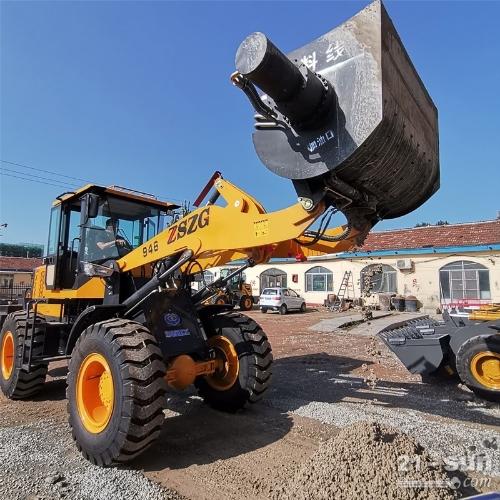 2021年全新混凝土搅拌斗30装载机改装