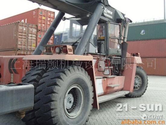 新的二手卡尔玛集装箱正面吊drd450-60s5k二手港口机械