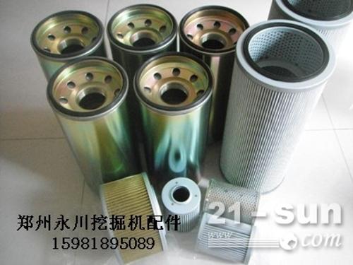 石川岛80挖掘机液压滤回油滤芯郑州挖掘机配件