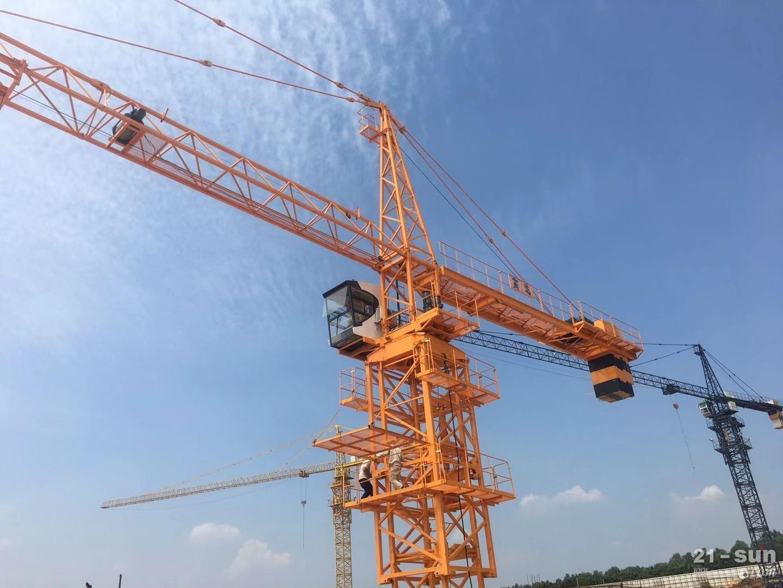 高达QTZ80(6510)塔式起重机 锤头塔式起重机 广东塔吊厂家