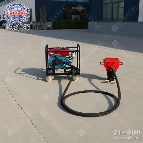 鲁探QTZ-4柴动便携式取土钻机环保土壤取样钻机简单方便