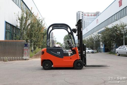 山东电动叉车一吨小型四轮座驾式搬运车堆高车装卸叉车
