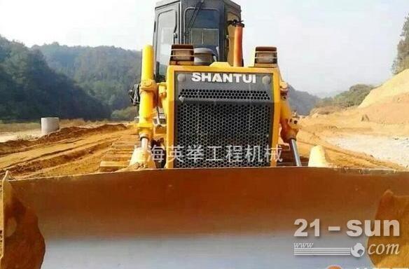 上海山推二手推土机