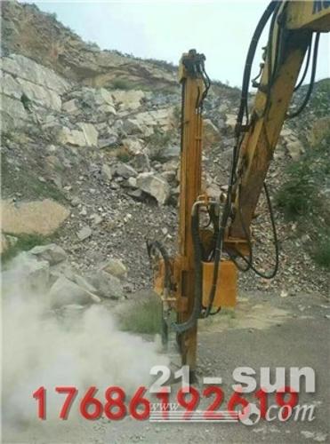 挖机改液压凿岩钻机 挖改凿岩钻 全液压边坡钻孔机