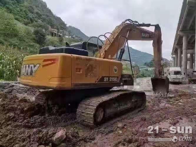 安徽三一二手履带挖掘机