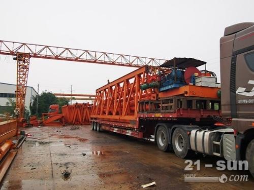 湖南湘潭20吨龙门吊出租厂家安装团队多