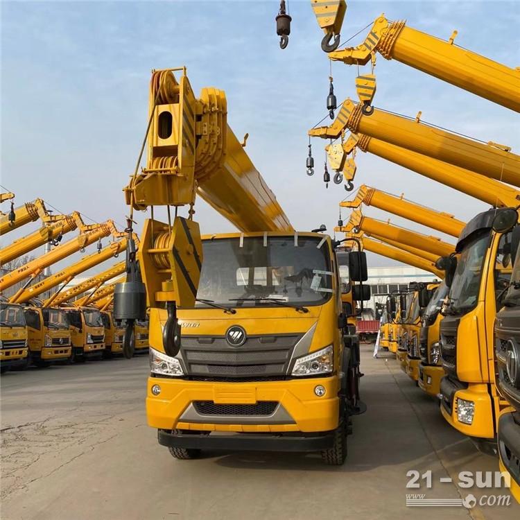 四不像建筑吊车供应 16吨汽车吊车 凯马底盘吊车