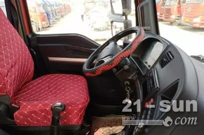 德龙牵引车 430马力 国五 双驱轻体德龙新M3000牵引车二手场地牵引车