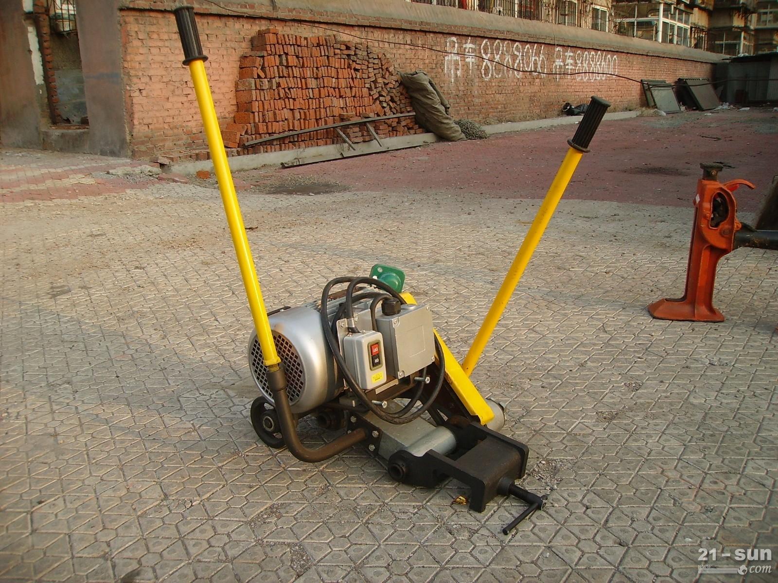 供应防爆电动锯轨机 轨道割锯机械 绳锯锯轨机